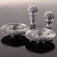 Front \ Rear Hard Steel Differential Ring/Pinion Gear Set For Traxxas X Maxx RC Car 1/5