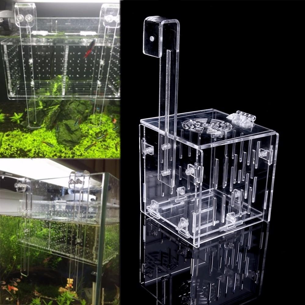 Jebo aquarium fish tank sale - Aquarium Fish Tank Breeding Box Isolation Hatchery Incubation Breeder Rearing China Mainland