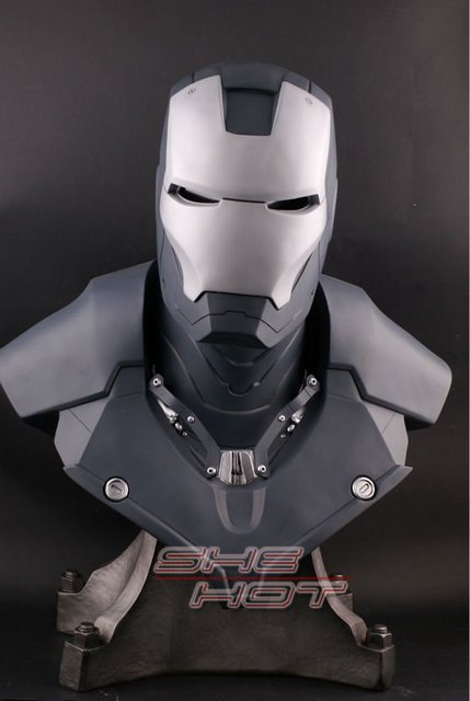 NEW!The Avengers 1/1.5 IRON MAN / Statue/ Colour:gray/