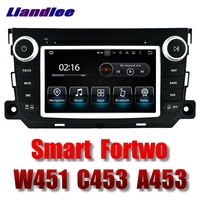Liandlee Car Multimedia Player NAVI For Mercedes Benz For Smart Fortwo W451 C453 A453 2007~2017 Radio DVD Stereo GPS Navigation