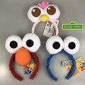 3 Стилей Улица Сезам Elmo Повязки мультфильм лицо Забавные плюшевые Куклы волосы обруч Cookie Monster Игрушки