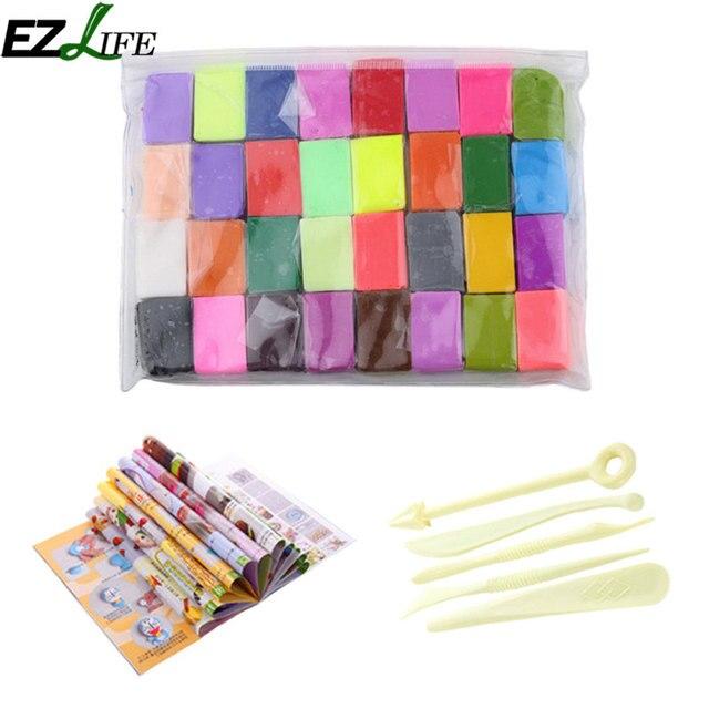 32 couleurs argile douce bricolage sûr et non toxique