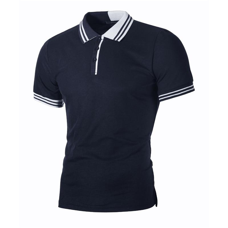Striped Polo Shirt Men 2019 Brand New Summer Polo Shirt Hommes Slim Fit Short Sleeve Men Polo Shirt Casual White Camisa Polo