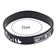 One Piece Silicone Rubber Bracelet
