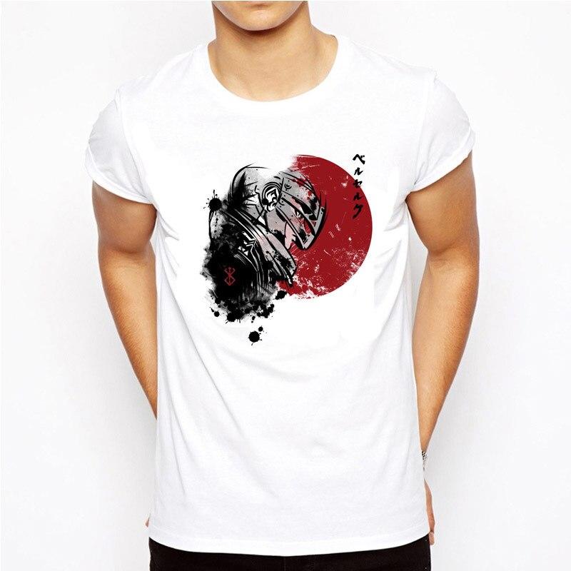 Berserk T Shirt Men Print T Shirts Fashion Print T Shirts