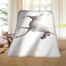 P#130 Custom Horse#39 Home Decoration Bedroom Supplies Soft Blanket size 58×80,50X60,40X50inch SQ01016@H+130