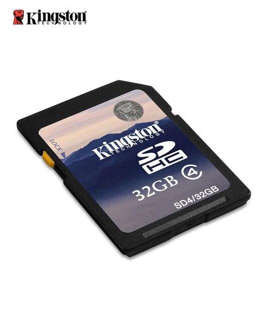 Kingston sd карты бесплатная доставка новое прибытие memoria 32 ГБ класс 4 memoria sd