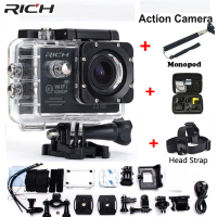 Action Camera Wifi For Go Pro Hero 4 Sport Camera 1080P HD 30m Waterproof Sports Camrea