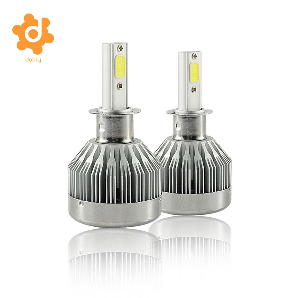 Baoblaze H3 12V 60W LED Headlight Hi/Low Beam Fog Driving DRL Lamp Bulb