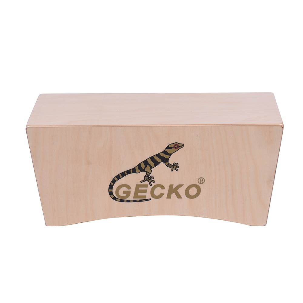 все цены на GECKO Cajon Box Drum Hand Drum Birch Wood Persussion Musical Instrument Compact Size Portable онлайн