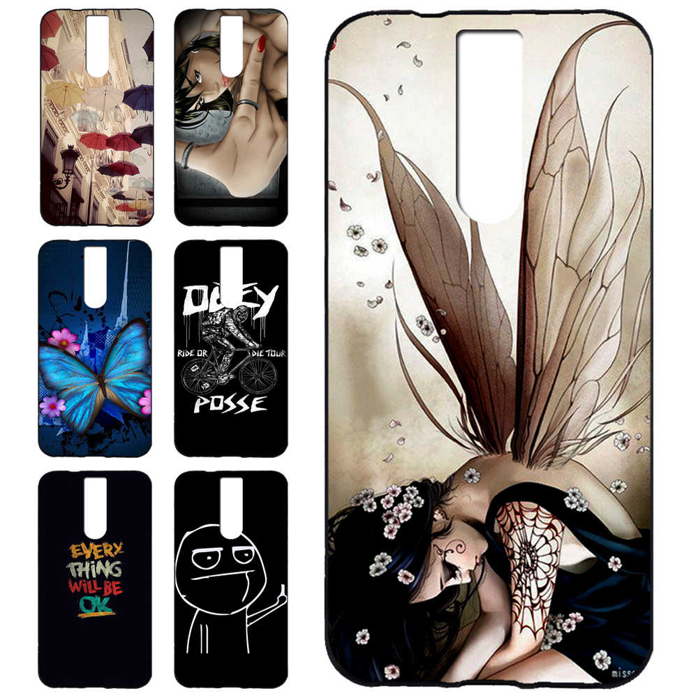 Dirt-resistant Leagoo Power5 Cute Cartoon Pattern Style Cool Gel Soft TPU Silicone Case Phone Cover Celular for Leagoo Power5