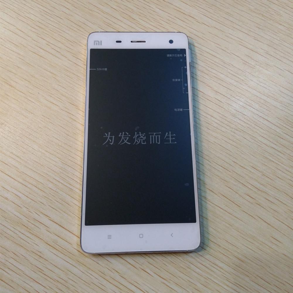 Prix pour De Rechange d'origine Partie LCD de Remplacement Affichage + Écran Tactile Avec Cadre Pour Xiaomi Mi4 FHD 1920*1080
