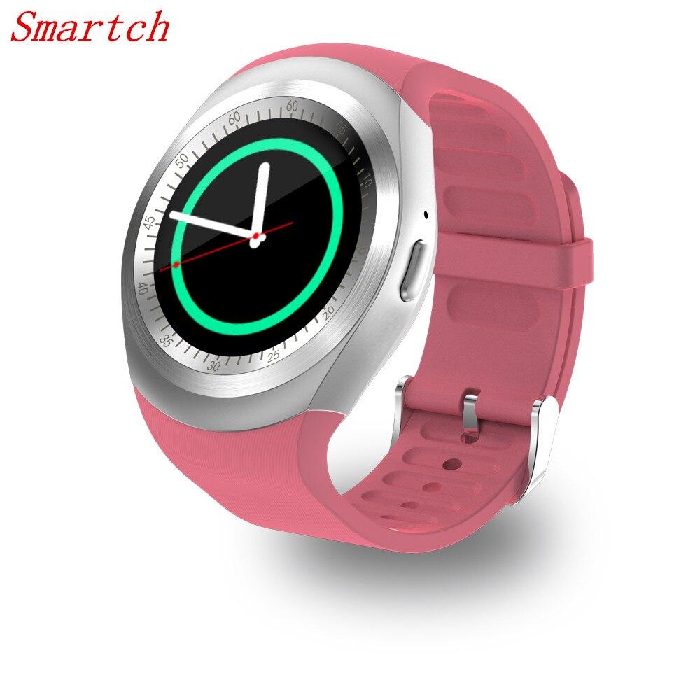 EnohpLX Y1 Bluetooth Smart Watch SIM TF Card Watch Phone Call Push Message Pedometer Music Smartwatch