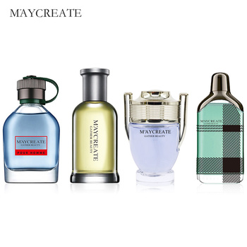 MayCreate Perfume Men Mini Bottle Portable For Men Female Perfume Women Parfum Brand Lasting Fragrance Spray Bottle 100ml 1Set