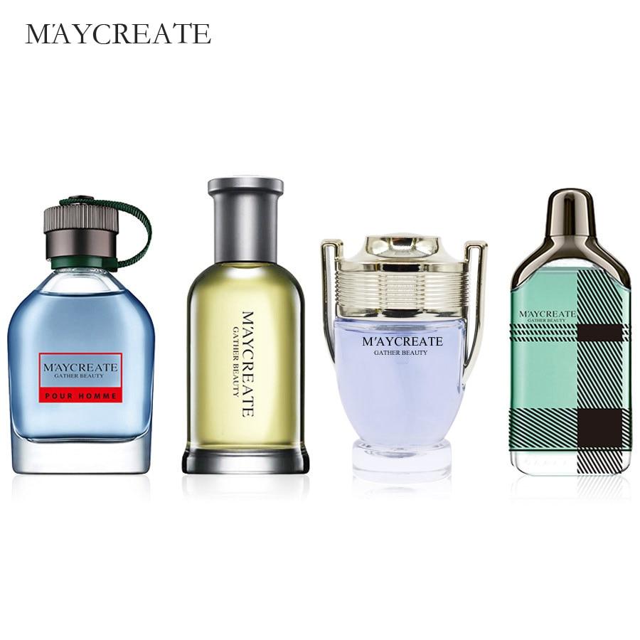 MayCreate Parfüm Männer Mini Flasche Tragbare Für Männer Weibliche Parfum Frauen Parfum Marke Anhaltenden Duft Sprühflasche 100 ml 1 Satz