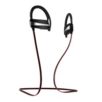 SltcrPasion High Quality IPX7 Waterproof Sport Wireless Bluetooth Headphones With Mic Built In Amplifier Active Noise