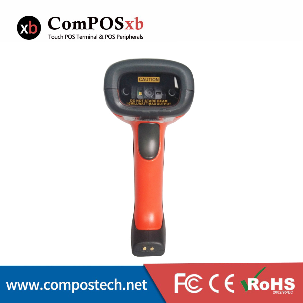 Free shipping factory direct sale QR code scanner with bluetooth waterproof/pos system accessories for Express
