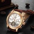 MG. ORKINA MG Tourbillon Automatische Horloge Luxe Gouden Mechanische Zelf Wind Auto Datum Horloges Mannen montre automatique homme