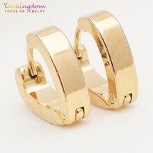 Yunkingdom новые серьги в форме сердца из нержавеющей стали маленькие серьги-кольца для женщин Подарки для влюбленных опт/розница UE0299