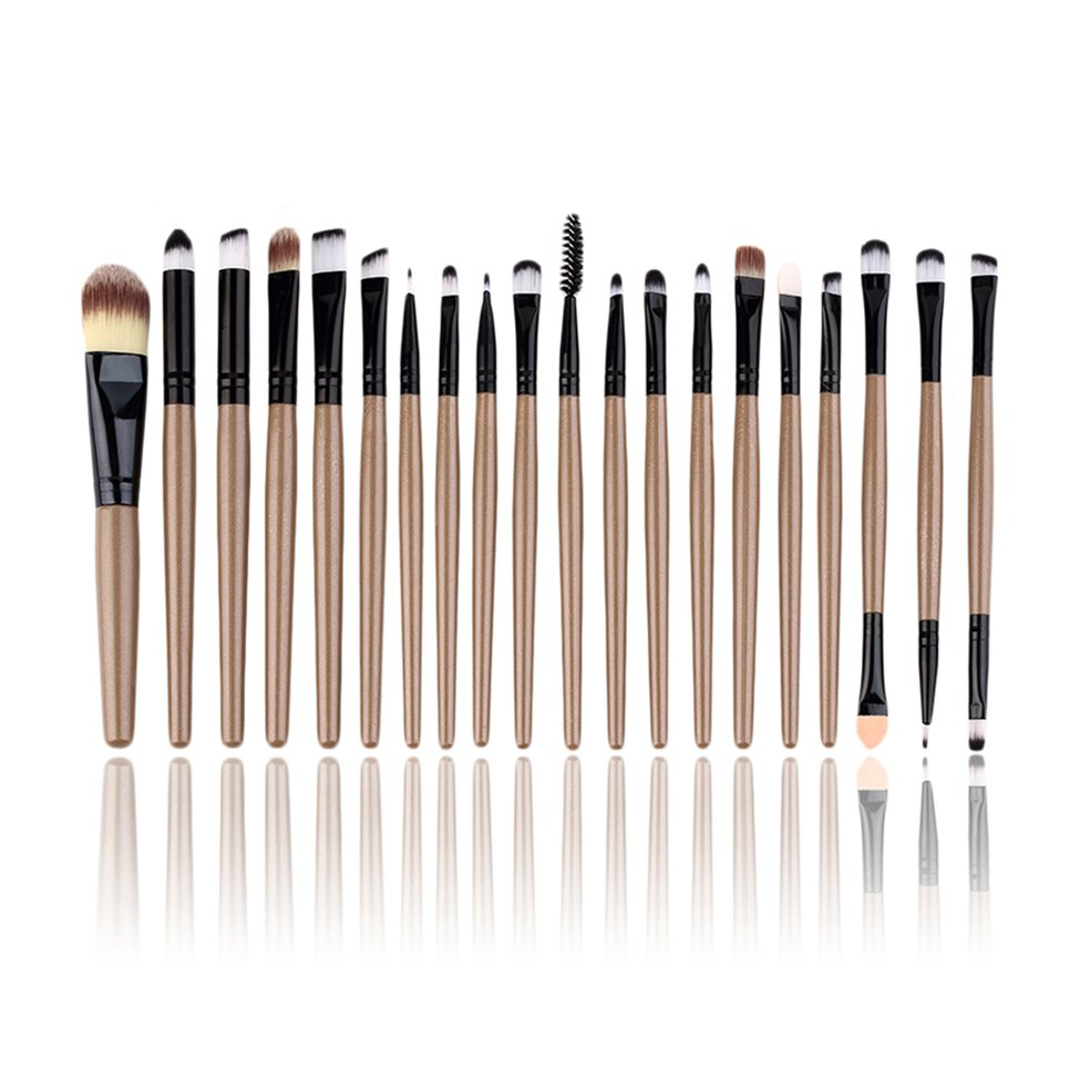 10Pcs New Professional Makeup Beauty Cosmetic Blush Golden Brushes Kits10Pcs New Professional Makeup Beauty Cosmetic Blush Golden Brushes Kits
