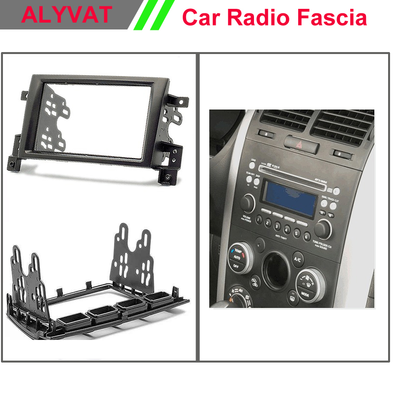 Автомобильная Радио панель для SUZUKI Grand Vitara, Escudo 2005 + стерео Dash Facia Trim Surround CD установочный комплект