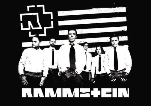 RAMMSTEIN – MUSIC art silk Poster
