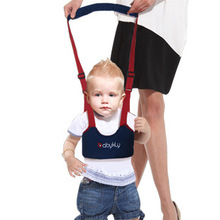 Baby Safe Infant Walking Belt Kid Keeper Walking Learning Assistant Toddler Adjustable Strap Harness 1pcs xb06