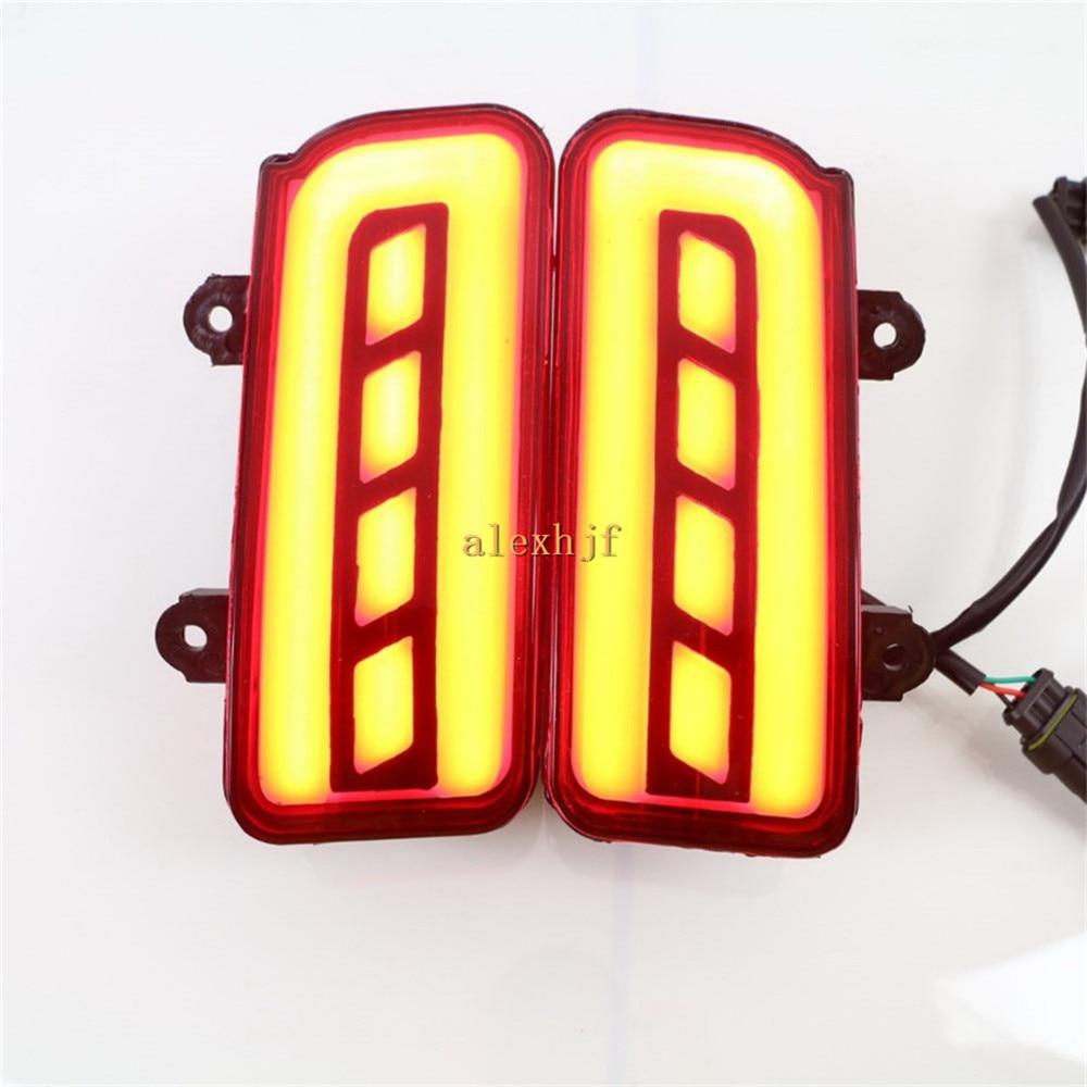 July King LED Light Guide Brake Lights Case for Honda CR-V CRV 2015-16, Brake+Turn Signals+Night Running Warning Lights, 3 in 1 iron king cr 28