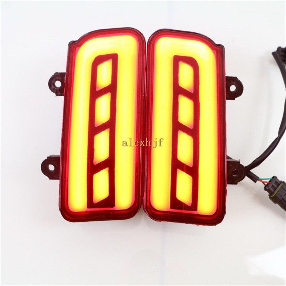 July King LED Light Guide Brake Lights Case for Honda CR-V CRV 2015+, Brake + Turn Signals+ Night Running Warning Lights, 3 in 1 iron king cr 26