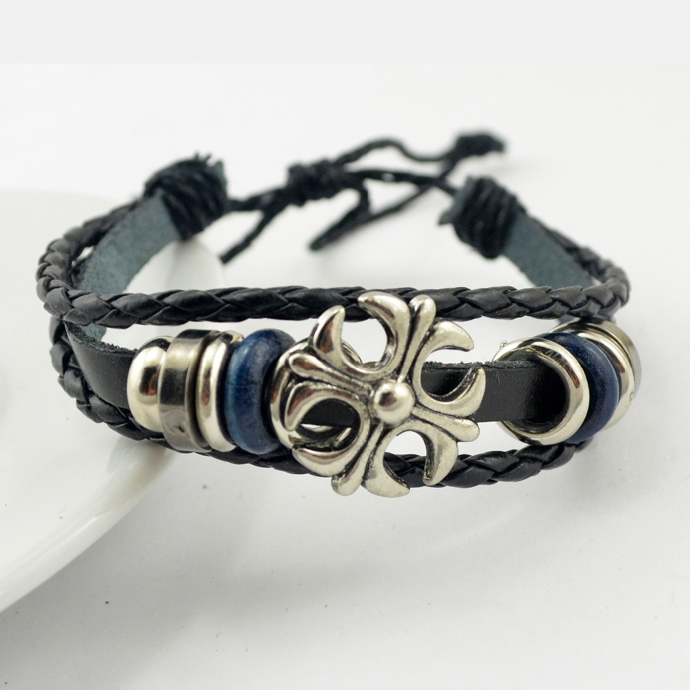 biker amazon jewelry link steel boys dp men s com cross konov bracelets heavy stainless bracelet