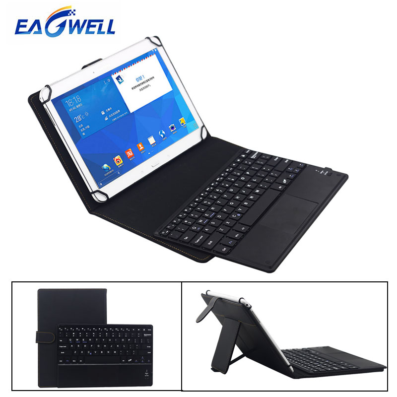 Universal 9.7 10 10.1 inch Tablet Bluetooth Keyboard PU Leather Case IOS Android Windows Tablets PC Wireless Keyboard Cover Case