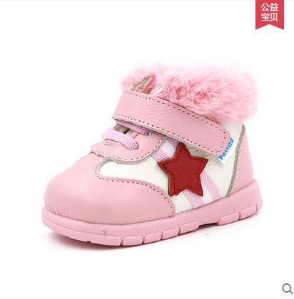 Детские Кожаные Ботинки Зимние Ботинки Мягкие Малышей Prewalkers Обувь Детская Обувь Не Скользит Первые Ходунки Пинетки Бесплатная Доставка