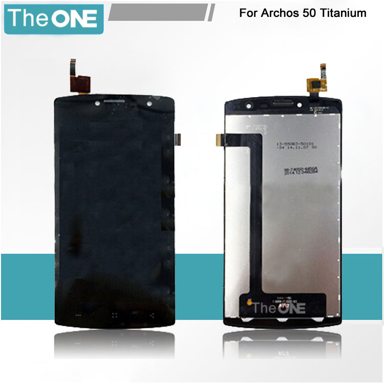 5 pcs new Archos 50 Titanium lcd display touch screen+lcd screen assembly