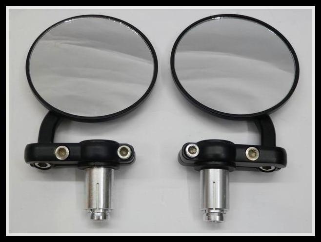 Bar End Spiegels : Cnc round bar end mirrors bmw s r genuine quality pair hjr