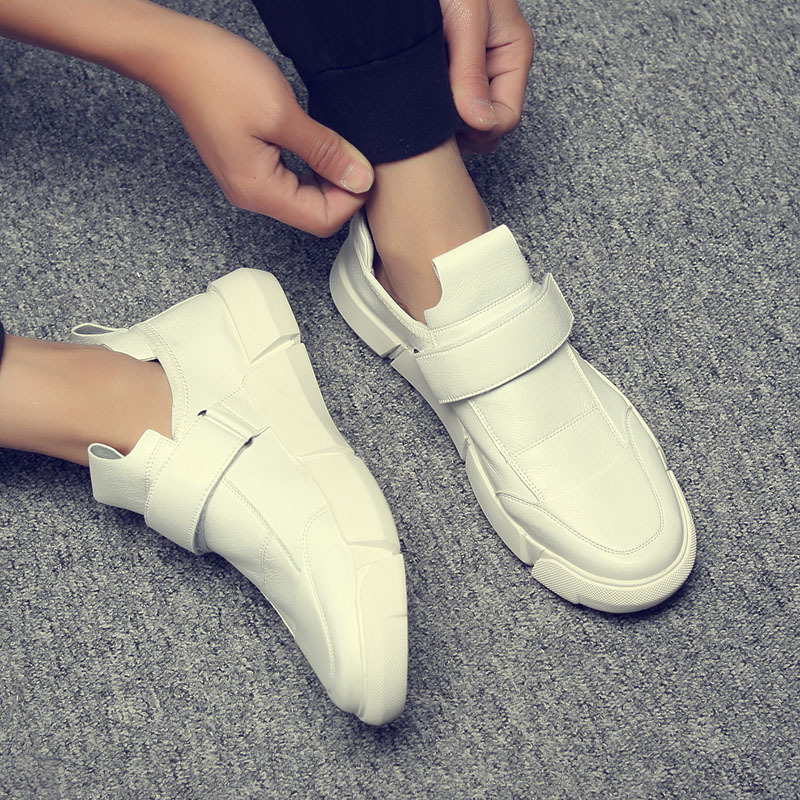 Yomior New Fashion Sneakers Men Brand Footwear High Quality Men's Casual Shoes Male White Shoes Flats Leather Shoes Spring high quality fashion men casual shoes brand superstar footwear male platform shoes black thick sole luxury men shoes white flats