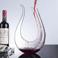 Handmade Crystal Red Wine Glass Decanter Brandy Decant Set Jug Bar Champagne Water Bottle Drinking Gift 1500ml Drop Shipping