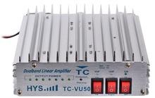 VHF UHF Amplifier DHL E-EMS HYS TC-VU50 50W Dual Band 140-150&430-440MHz Two Way Radio Power Amplifier To Amplify UV-5R UV-82