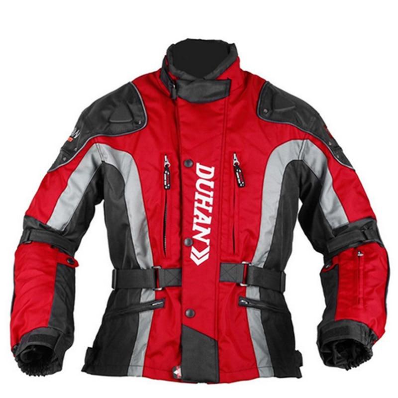 Une vente DUHAN hiver Moto veste Moto costume vêtements de protection