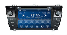 HD 2 din 7″ Car DVD Player for Toyota Corolla 2014 With GPS Navigation Bluetooth IPOD TV Radio/ RDS SWC AUX IN