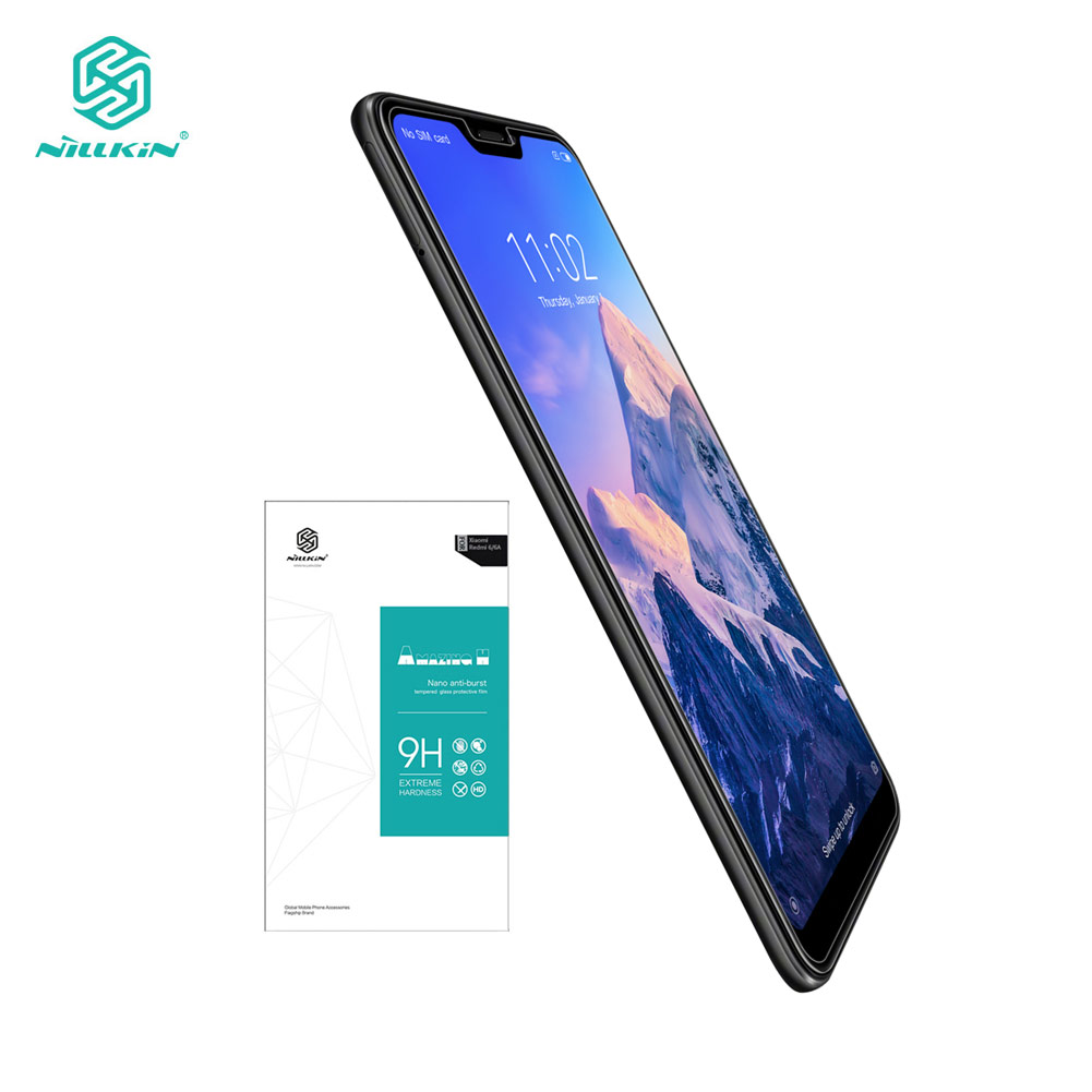 Tempered Glass For Xiaomi Mi A2 Lite 5.84 Nillkin Amazing H 0.33MM Screen Protector for Xiaomi Redmi 6 Pro / Mi A2 Lite Glass-in Phone Screen Protectors from Cellphones & Telecommunications on