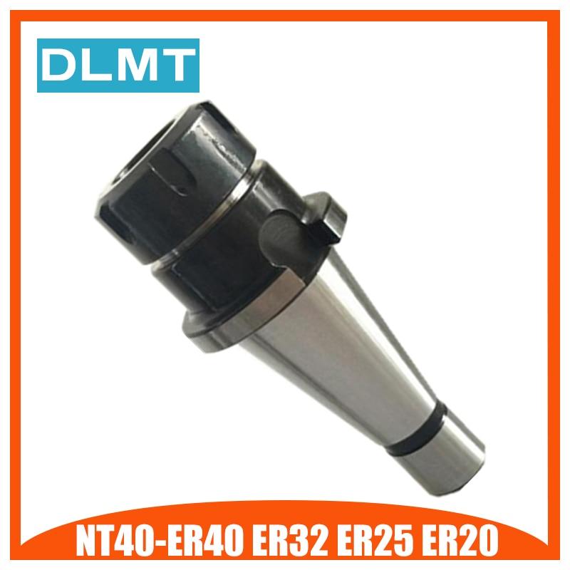 Brand New NT40 NT30 ER16/ ER20/ ER25/ ER32/ ER40 collet chuck tool holder for CNC er20 collet motor shaft chuck er er11 er16 er25 er32 spindle extension rod tool holder cnc milling drill chuck b10 12 18 jt2 6