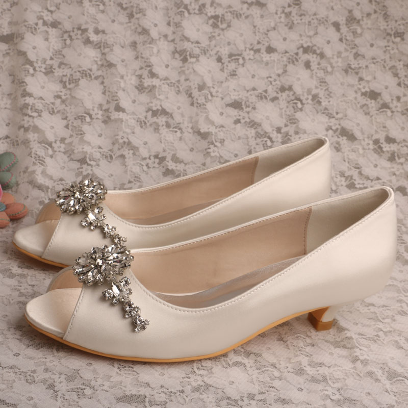 Wedopus Navy Blue Wedding Shoes for Bride Low Heel Flower Rhinestones  Dropshipping-in Women s Pumps from Shoes on Aliexpress.com  a59aa9ba5a38