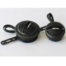ZYHW Brand 2pcs 35w black Dome Tweeters Auto car audio