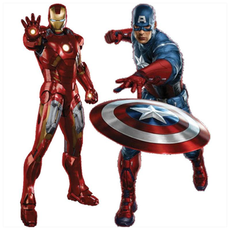 CAPTAIN AMERICA Sticker Vinyl Decal Car Window Shield Marvel Avengers Movie New
