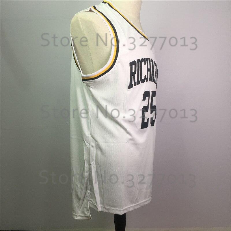 196399c42 2018 Richards High School Basket Jerseys  25 Dwyane Wade Jersey Vintage  Throwback Basketball Jerseys Vintage Stitched Men Shirts-in Basketball  Jerseys from ...