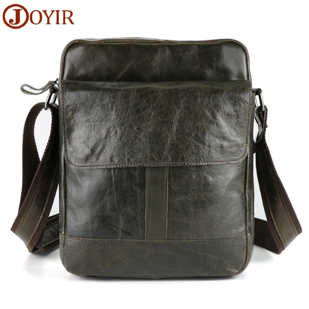Men's Bags Genuine Leather Male Crossbody Bags Strap Small Casual Flap Men Leather Messenger Bag Shoulder Bags 2017 summer metal ring women s messenger bags solid scrub leather women shoulder bag small flap bag casual girl crossbody bags