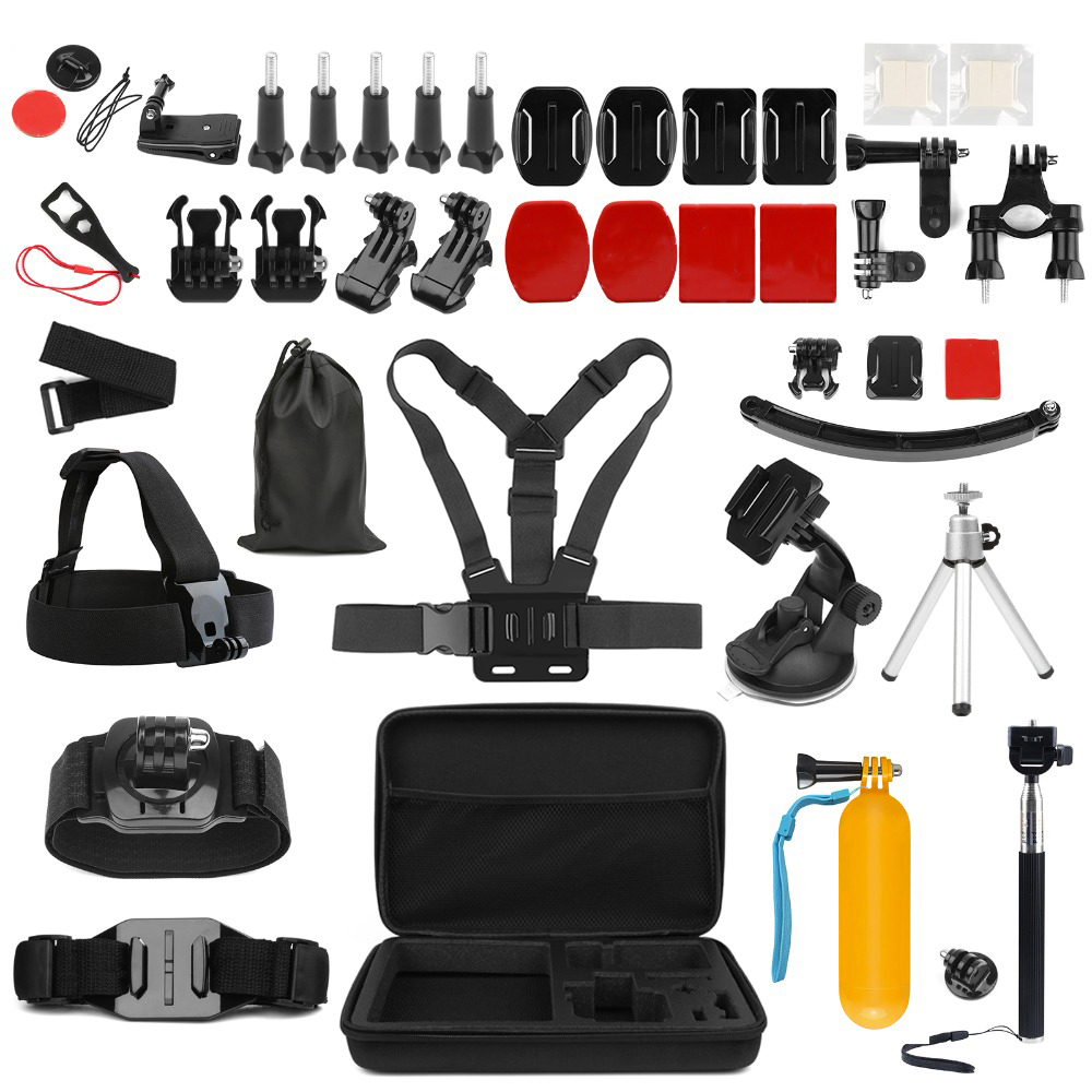 SHOOT Universal Action Camera Accessory For GoPro Hero 7 6 5 4 Black Xiaomi Yi Lite 4K+ Sjcam Eken H9 Go Pro Hero 7 Accessories
