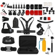 SHOOT accessorio universale per Action Camera per GoPro Hero 9 8 7 6 5 nero Xiaomi Yi Lite 4K + Sjcam Eken H9 GoPro Hero 8 accessori