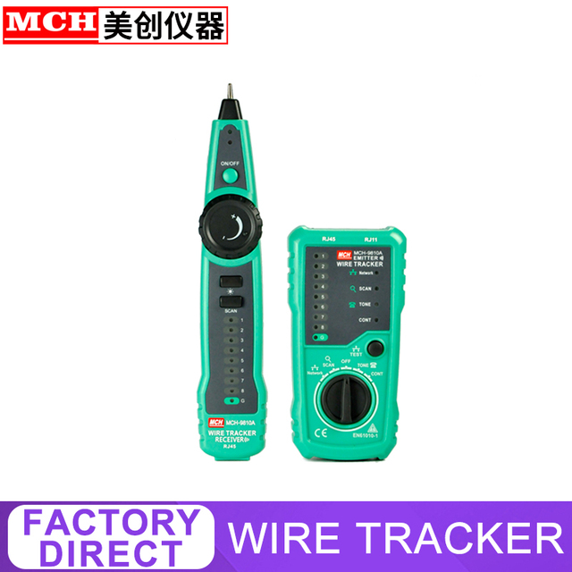 Wire Tracker Network Test Telephone Wire maintenance Network Lan Cable Tester MCH-9810A