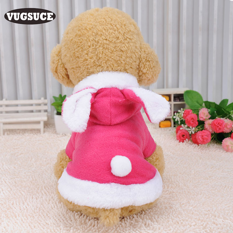 Dog Hoodies Home & Garden Vugsuce Cute Rabbit Dog Hoodie Clothes Coat For Small Dogs Cat Warm Dog Puppy Jacket Jumpsuit Novel Cosplay Costume Pet Supplies Unequal In Performance